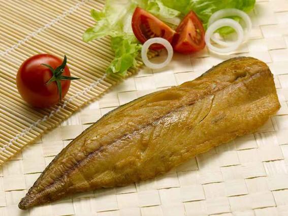 Makrelenfilet, geräuchert, natur